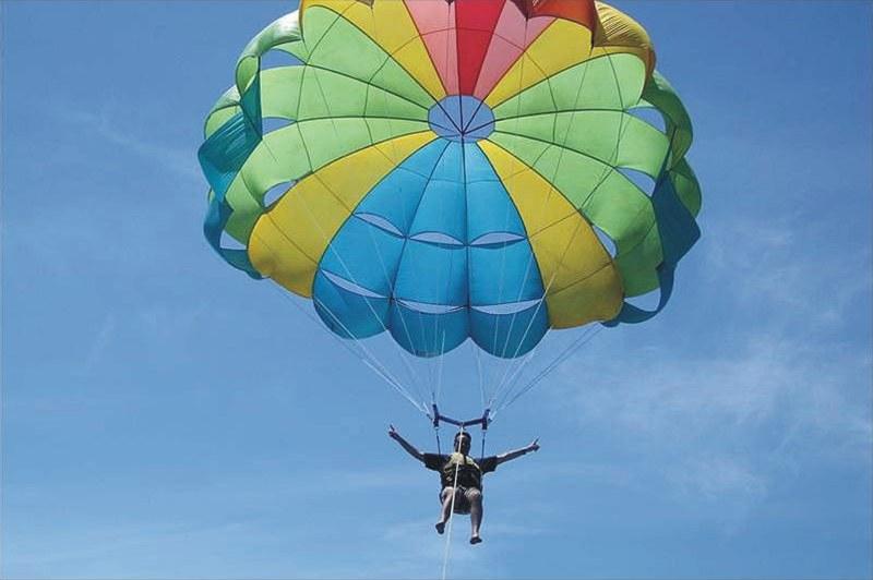 Полеты с парашютом - парасейлинг