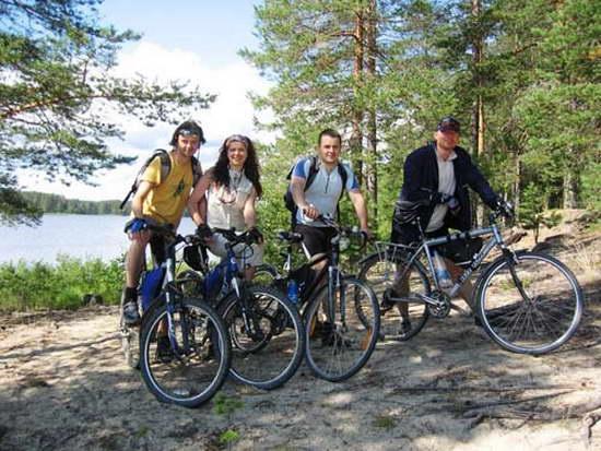 Туры на велосипедах по Карелии